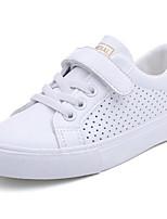 Недорогие -Мальчики / Девочки Обувь Микроволокно Весна Удобная обувь Кеды для Дети Белый / Розовый и белый / Белый / синий