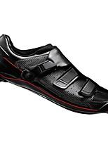 Недорогие -21Grams Взрослые Обувь для велоспорта Дышащий, Ультралегкий (UL), Удобный Шоссейные велосипеды / Велосипедный спорт / Велоспорт Белый / Черный Муж.