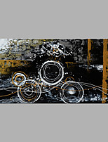 abordables -Peinture à l'huile Hang-peint Peint à la main - Abstrait Moderne Sans cadre intérieur / Toile roulée