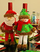 Недорогие -Праздничные украшения Новый год / Рождественский декор Рождественские украшения Для вечеринок / Декоративная / Оригинальные Образец 2pcs