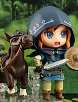 Недорогие -Аниме Фигурки Вдохновлен The Legend of Zelda Link ПВХ 10 cm См Модель игрушки игрушки куклы