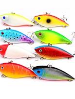 abordables -8 pcs leurres de pêche Poissons nageur / Leurre dur Plastique Extérieur Pêche d'appât / Pêche au leurre / Pêche générale
