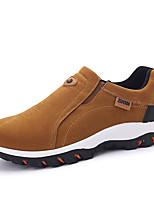 Недорогие -Муж. Комфортная обувь Полиуретан Зима На каждый день Мокасины и Свитер Доказательство износа Черный / Серый / Хаки