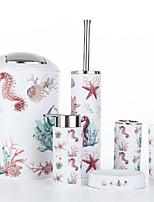 Недорогие -Держатель для полотенец / Набор для ванной Креатив Современный Керамика