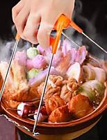 Недорогие -1шт Кухонные принадлежности Нержавеющая сталь + пластик Творческая кухня Гаджет Tong Многофункциональный