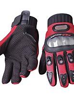 Недорогие -Полныйпалец Все Мотоцикл перчатки Углеродное волокно / Лайкра / Сетчатый материал Износостойкий / Non Slip