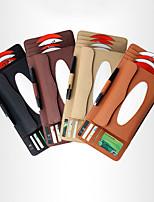 baratos -de correu fu carro litchi multifuncional padrão de três-em-um placa de cd saco de tecido caixa de lenço de papel toalha de papel bomba de sombrinha