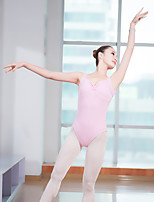 abordables -Danse classique justaucorps Femme Entraînement / Utilisation Elasthanne / Lycra Froncée Sans Manches Collant / Combinaison