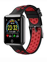 Недорогие -Kimlink J18 Смарт Часы Android iOS Bluetooth Водонепроницаемый Пульсомер Измерение кровяного давления Израсходовано калорий / Педометр / Напоминание о звонке / Датчик для отслеживания активности