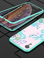 abordables -Nillkin Coque Pour Apple iPhone XR / iPhone XS Max Antichoc / Motif Coque Papillon Dur Verre Trempé / PC pour iPhone XR / iPhone XS Max