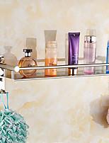 Недорогие -Полка для ванной Креатив Modern Нержавеющая сталь 1шт - Ванная комната / Гостиничная ванна Односпальный комплект (Ш 150 x Д 200 см) На стену