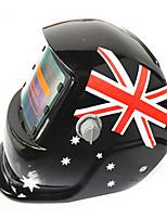 Недорогие -солнечный авто потемнение сварочный шлем 107 британский флаг