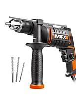 abordables -WORX 3949250 Ensemble d'outils électriques Electromoteur / Montage facile Démontage des ménages / Forage du bois / Acier de forage