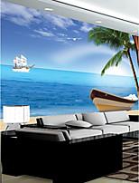 Недорогие -обои / фреска холст Облицовка стен - Клей требуется Ар деко / Рисунок / 3D