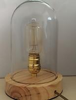 abordables -simple Décorative Lampe de Table Pour Chambre à coucher Bois / Bambou 220V