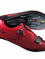 Недорогие -21Grams Обувь для велоспорта Дышащий, Ультралегкий (UL) Красный Муж.