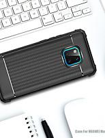 Недорогие -Кейс для Назначение Huawei Huawei Mate 20 Lite / Huawei Mate 20 Pro Защита от удара / Матовое Кейс на заднюю панель Однотонный Мягкий ТПУ для Mate 10 lite / Huawei Mate 20 lite / Huawei Mate 20 pro