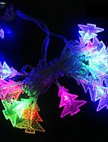 Недорогие -BRELONG® 4м Гирлянды 28 светодиоды RGB Водонепроницаемый / Для вечеринок / Декоративная 220-240 V 1шт
