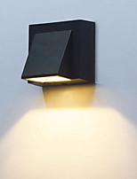 baratos -1pç 3 W Focos de LED Impermeável Branco Quente / Branco Frio 85-265 V Iluminação Externa / Pátio / Jardim 1 Contas LED