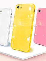 Недорогие -Кейс для Назначение Apple iPhone XR / iPhone XS Max Полупрозрачный / Магнитный / Wireless Charging Receiver Case Чехол Однотонный Твердый Силикон / ПК для iPhone XS / iPhone XR / iPhone XS Max