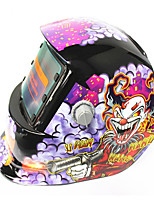 Недорогие -солнечный автопокрашивающий шлем сварщика 107 клоун