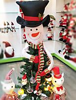 Недорогие -Новогодние ёлки / Рождество Мультяшная тематика / Новогодняя ёлка Нетканый материал Квадратный Оригинальные Рождественские украшения