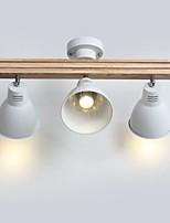 Недорогие -QIHengZhaoMing 3-Light Люстры и лампы Рассеянное освещение Латунь Металл 110-120Вольт / 220-240Вольт Теплый белый
