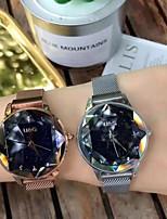 Недорогие -Жен. Нарядные часы Наручные часы Кварцевый Новый дизайн Имитация Алмазный сплав Группа Аналоговый На каждый день Элегантный стиль Черный / Серебристый металл / Коричневый - Лиловый Кофейный Синий
