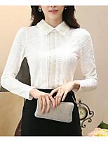 Недорогие -женская одежда тонкая футболка - сплошная цветная квадратная шея