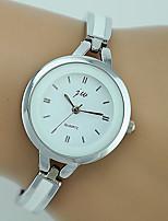 Недорогие -Жен. Наручные часы Кварцевый Серебристый металл Повседневные часы Аналоговый Дамы Мода минималист - Серебряный