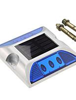 Недорогие -1шт 3 W Светодиодный уличный фонарь Декоративная Синий 1.2 V Уличное освещение 6 Светодиодные бусины