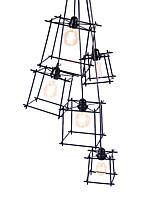 Недорогие -QINGMING® 3-Light Мини Люстры и лампы Потолочный светильник Электропокрытие Окрашенные отделки Металл Мини 110-120Вольт / 220-240Вольт