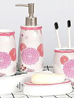 Недорогие -Держатель для полотенец / Набор для ванной Креатив Современный Керамика На стену