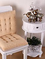 baratos -Almofadas de Cadeira Sólido Gravado Poliéster Capas de Sofa