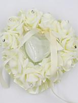 abordables -polystyrène Strass Plastique Oreiller d'anneau Cœur Toutes les Saisons