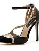 Недорогие -Жен. Синтетика Весна & осень Обувь на каблуках На шпильке Белый / Черный