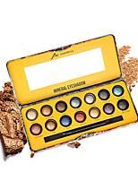 abordables -2 couleurs Fards à Paupières Œil durable Etanche Maquillage Quotidien / Maquillage de Fête Maquillage Cosmétique