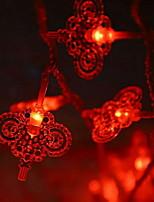 baratos -10m Cordões de Luzes 100 LEDs Vermelho Decorativa 220-240 V 1conjunto