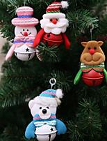 Недорогие -Рождественские украшения Новогодняя тематика Нетканый материал Для вечеринок Рождественские украшения