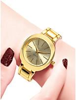 Недорогие -Жен. Наручные часы Кварцевый Золотистый 30 m Защита от влаги Повседневные часы Аналоговый Дамы На каждый день Мода - Золотой Белый Черный