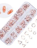 Недорогие -240 pcs Стразы для ногтей Лучшее качество Сердце маникюр Маникюр педикюр Повседневные модный