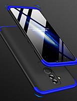 abordables -Coque Pour Huawei Huawei Mate 20 Lite Antichoc / Ultrafine / Dépoli Coque Intégrale Couleur Pleine Dur PC pour Mate 10 / Mate 10 pro / Mate 10 lite