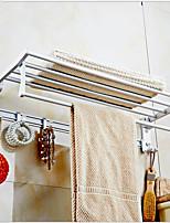 Недорогие -Держатель для полотенец Cool / Креатив Modern Нержавеющая сталь 1шт На стену