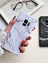 baratos -Capinha Para Samsung Galaxy S9 Plus / S8 Plus Estampada Capa traseira Mármore Rígida PC para S9 / S9 Plus / S8 Plus