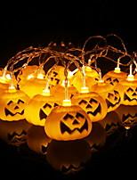 abordables -3,3 m Guirlandes Lumineuses 16 LED Blanc Chaud Décorative Piles AA alimentées 1 set