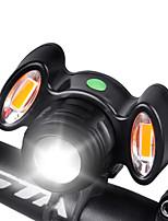Недорогие -Передняя фара для велосипеда Светодиодная лампа Велосипедные фары Велоспорт Водонепроницаемый, Простота транспортировки, Быстросъемный Перезаряжаемая батарея 1000 lm Перезаряжаемая батарея