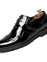 Недорогие -Муж. Комфортная обувь Полиуретан Осень На каждый день Туфли на шнуровке Доказательство износа Золотой / Черный