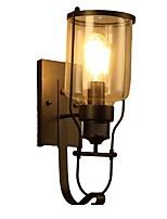 Недорогие -Творчество Ретро Настенные светильники Гараж / кафе Металл настенный светильник 110-120Вольт / 220-240Вольт 40 W