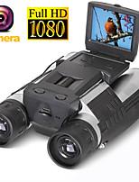 Недорогие -zoom fs608 цифровая бинокулярная телескопическая камера 5mp cmos sensor 2.0 '' tft full hd 1080p dvr фото видеозапись usb бинокль