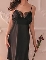 abordables -Femme Jarretelles & Bretelles Vêtement de nuit Dentelle / Dos Nu, Broderie